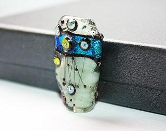 Focal Glass Bead - Fresh Water - Glass beads supplies.