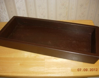 Primitive Wood Candle Tray-Made to Order - Color Choice