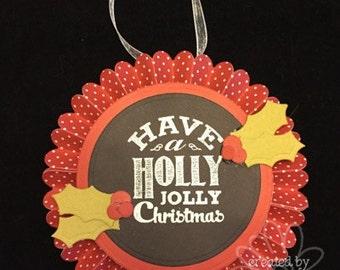 Holly Jolly Rosette