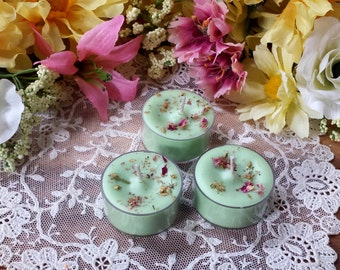 4 Goddess Freya Tea Lights, Soy Tealights, Soy wax