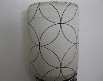 Cooler Decor- Water Dispenser Cover Light Gold and black