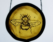 SPECIAL PRICE -Stained Glass, Spring Bee! perfect mothersday or valentines gift