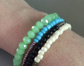 Handmade beaded bracelet MADE TO ORDER!