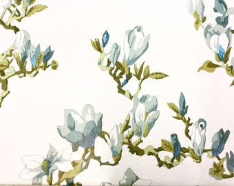 Pale Lily Tree Fabric
