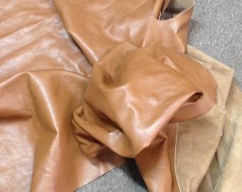 PREM252.  Caramel Leather Cowhlde