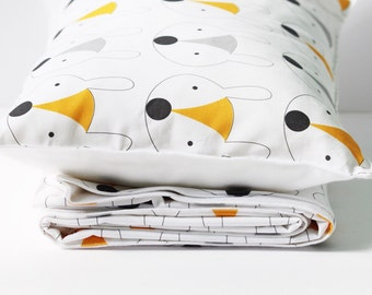 Toddler Bedding - Fox Bedding - Kids Bedding - Toddler Duvet Cover - Toddler Pillowcase - Kids Duvet - Kids Pillowcase - Kids Bedding Set