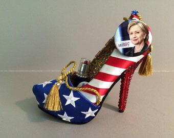 "Hillary High Heel: ""American Pride"""