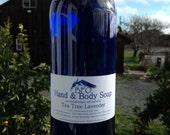 Tea Tree Lavender Hand Soap 16 oz ECO- REFILL Size