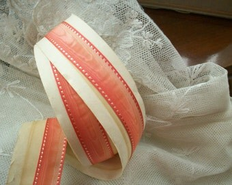Antique french silk ombre ribbon
