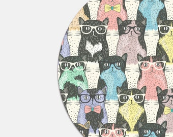 Cat Mouse Pad Gift School Supplies Dorm Decor Funny Office Decor Mousepad Gifts for Coworker Cat Gift Cat Lady Office Desk Accessories