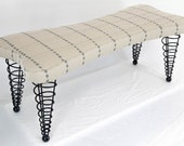 Modern Upholstered Bench, Handmade Original Design