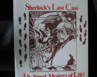 Vintage Paperback Book. Potboilers, Three Black Comedies, Sherlock's Last Case, Sherlock Holmes