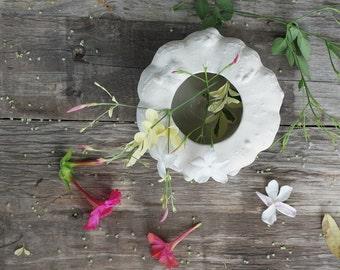 Sale - Stoneware pumpkin vase, planter