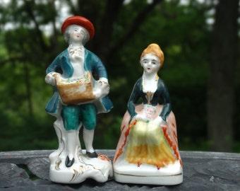 Vintage porcelain figurines.