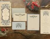 Art Deco Wedding Invitation,  Save the Dates, Vintage Wedding Invitations, Save the Date, Deco Wedding, Vintage Invitations, Art Nouveau,
