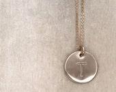 Medium Disc Necklace