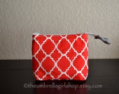 READY TO SHIP Small Red Latise Essential Oil Travel/Carrying Bag