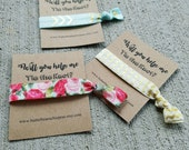 Will you help me Tie the Knot? Bridal Party or Shower Favors.