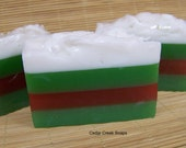 Happy Holiday Soap ~ Scents of the Season Soap ~ Stocking Stuffer ~ Soap Gift ~ Detergent Free Soap
