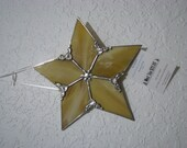 Gold 5 point star