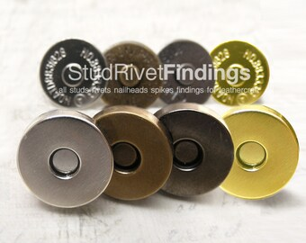 20 sets 14mm THICK Magnetic Snap Closure
