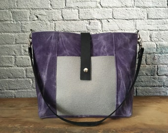 Waxed Canvas Tote, Waxed Canvas Bag, Aisling Bag