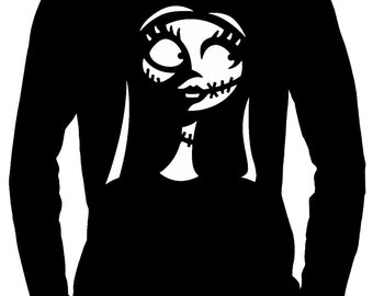 For Love of Sally Long Sleeve T-shirt Nightmare Before Christmas Clothing