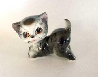 Vintage Kitten Cat Figurine