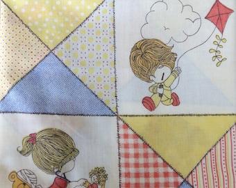 Little Lovables Pillowcase //  Vintage 1970's // Comic Strip // Retro Linens