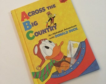 Across the Big Country with Donald Duck - Disney's Wonderful World of Reading Book Club Book