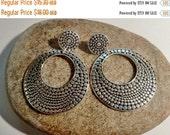 on Sale Hoop Earrings, Large Hoops, Stud Hoops, Vintage Earrings