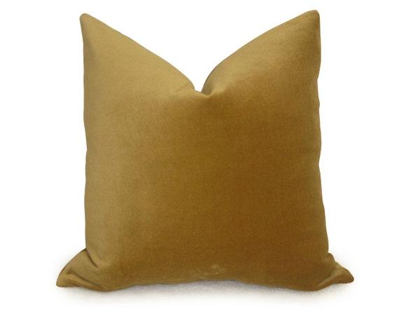 Gold Velvet Pillow Cover Velvet Pillow Decorative Pillow