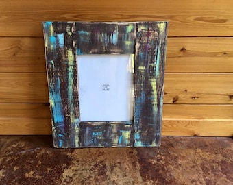 Distressed 11x14 Picture Frame