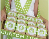 Custom Labels and Ribbon