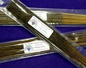 Smoke and Odor Eliminator Scent Incense Sticks, Hand dipped, Odor Remover