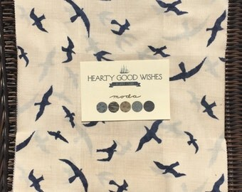 Hearty Good Wishes Layer Cake Janet Clare moda fabrics OOP HTF