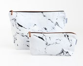 MARBLE & COPPER Toiletry bag // wash bag case pouch make-up bag by renna deluxe