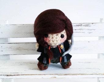 Katniss Everdeen Amigurumi