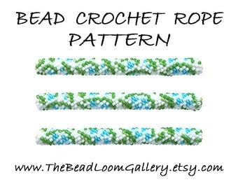 Bead Crochet Rope Pattern - Vol. 40 - Lily of the Valley - PDF File
