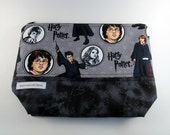 Harry Potter Zippered Project Bag