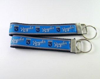 Kansas City Royals Key Chain - Key Fob - Scissor Fob