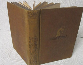 ROAD OF AGES by Robert Nathan - 1903 Old Antique Brown Book