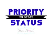 Priority Status - US ORDER - Expedited Small Order with US Priority Shipping Upgrade- rush order
