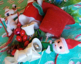 very cute lot of holiday decortions