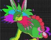 Digital PDF File Bead Stitch Patterns in Brick Peyote and Loom - Artsy Hare