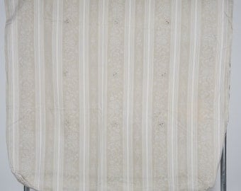 Antique French Mattress Cover. Large Pillow Cover. Sewing Material. Excellent Condition.