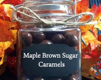 Maple Brown Sugar Caramels