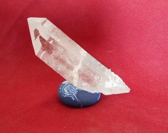 Rock Crystal Double Terminus Metaphysical Large (QCSD-104)
