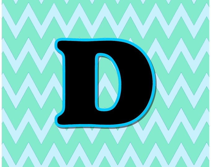 Letter D Digital Download