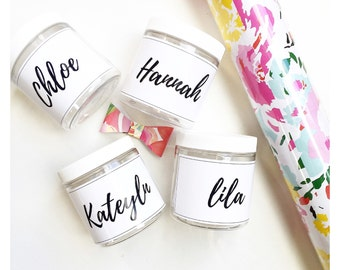Personalized Jars Party Favors